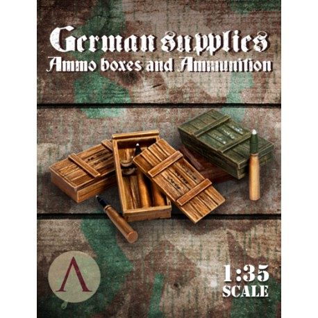 GERMAN SUPPLIES - AMMO BOXES AND AMMUNITION 2