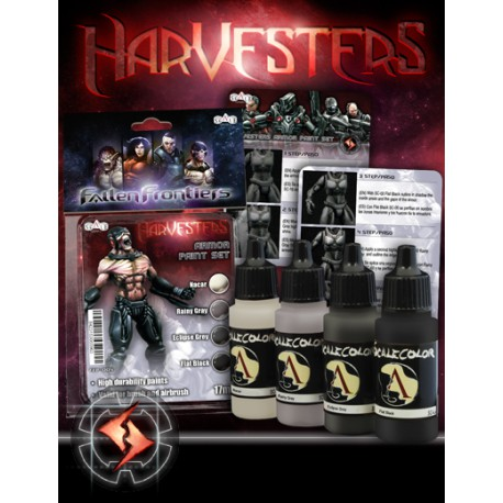 HARVESTER PAINT SET