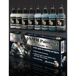 NMM Paint Set STEEL