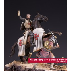 KNIGHT TEMPLAR + SARACEN WARRIOR PACK