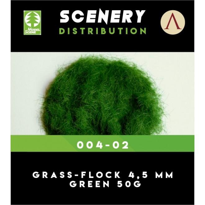 GRASS-FLOCK 4,5MM GREEN 50G