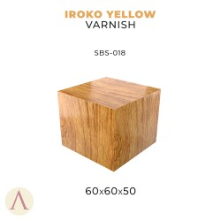IROKO YELLOW VARNISH 60 X 60 X 50