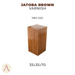 JATOBA BROWN VARNISH 35 X 35 X 70