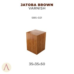 JATOBA BROWN VARNISH 35 X 35 X 50