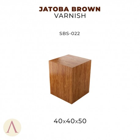 JATOBA BROWN VARNISH 40 X 40 X 50