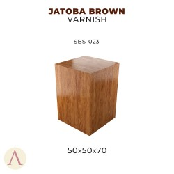JATOBA BROWN VARNISH 50 X 50 X 70
