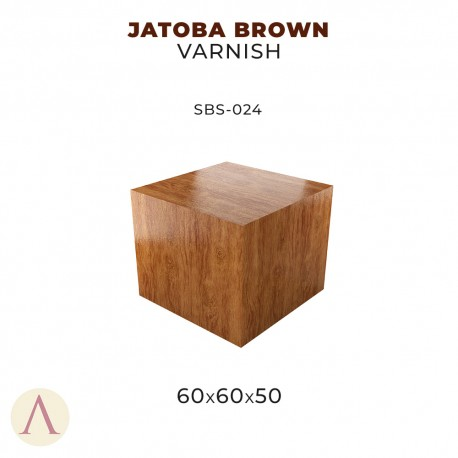 JATOBA BROWN VARNISH 60 X 60 X 50